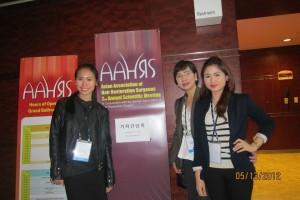 Dra. Arambulo attended AAHRS seminar